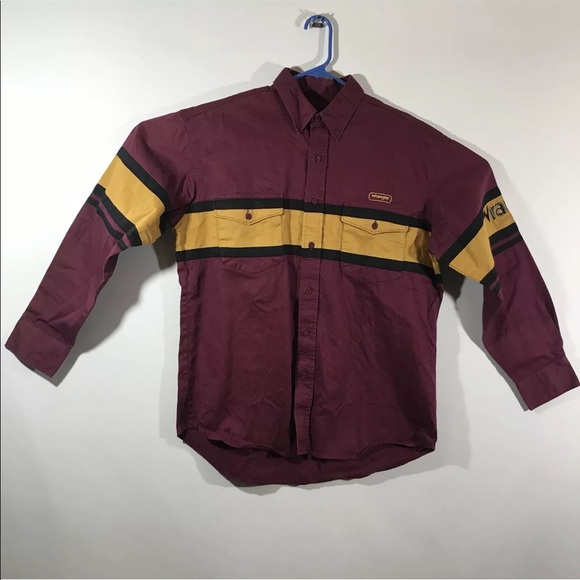 bbdeb4500 Wrangler Shirts | Mens Vintage Rodeo Country Western Shirt | Poshmark